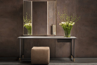 Iko mirror table  by  FLOU