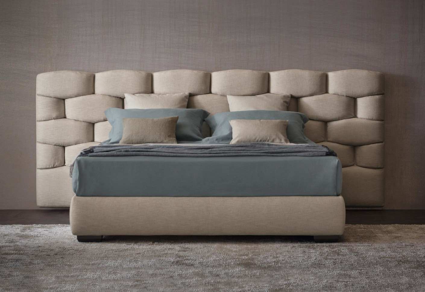 Bed headrest home design for Bed headrest design