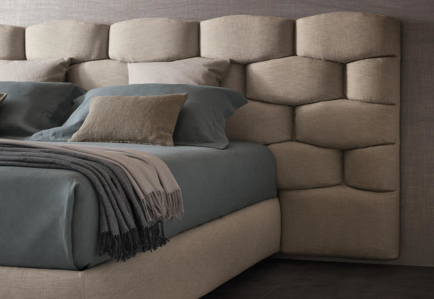 Majal Bed Wide Headboard By Flou Stylepark
