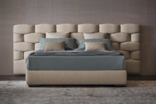 Majal bed wide headboard  by  FLOU