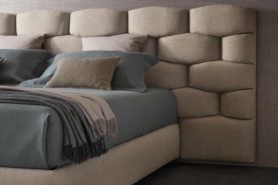 Majal bed wide headboard