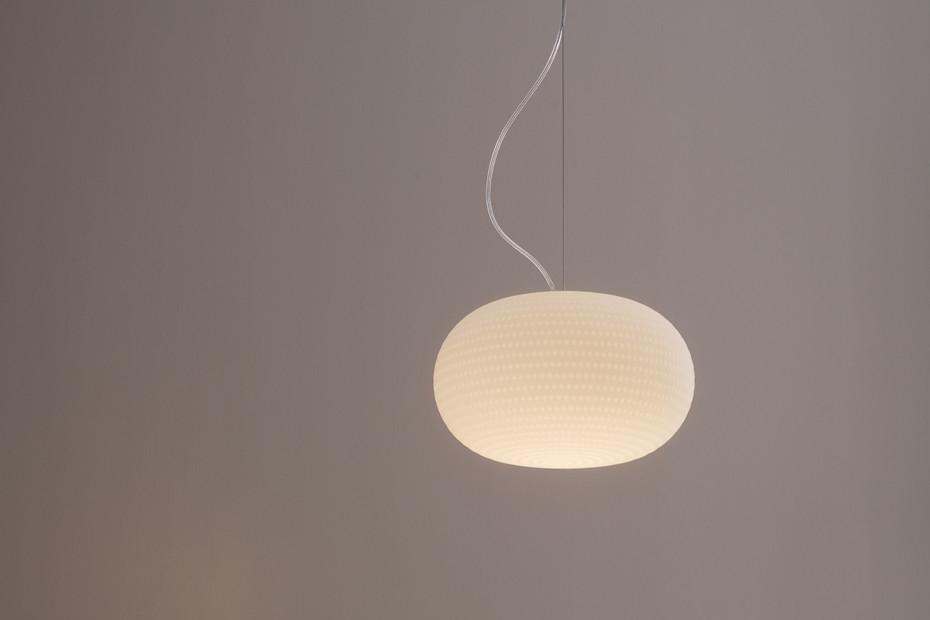 Bianca suspension lamp