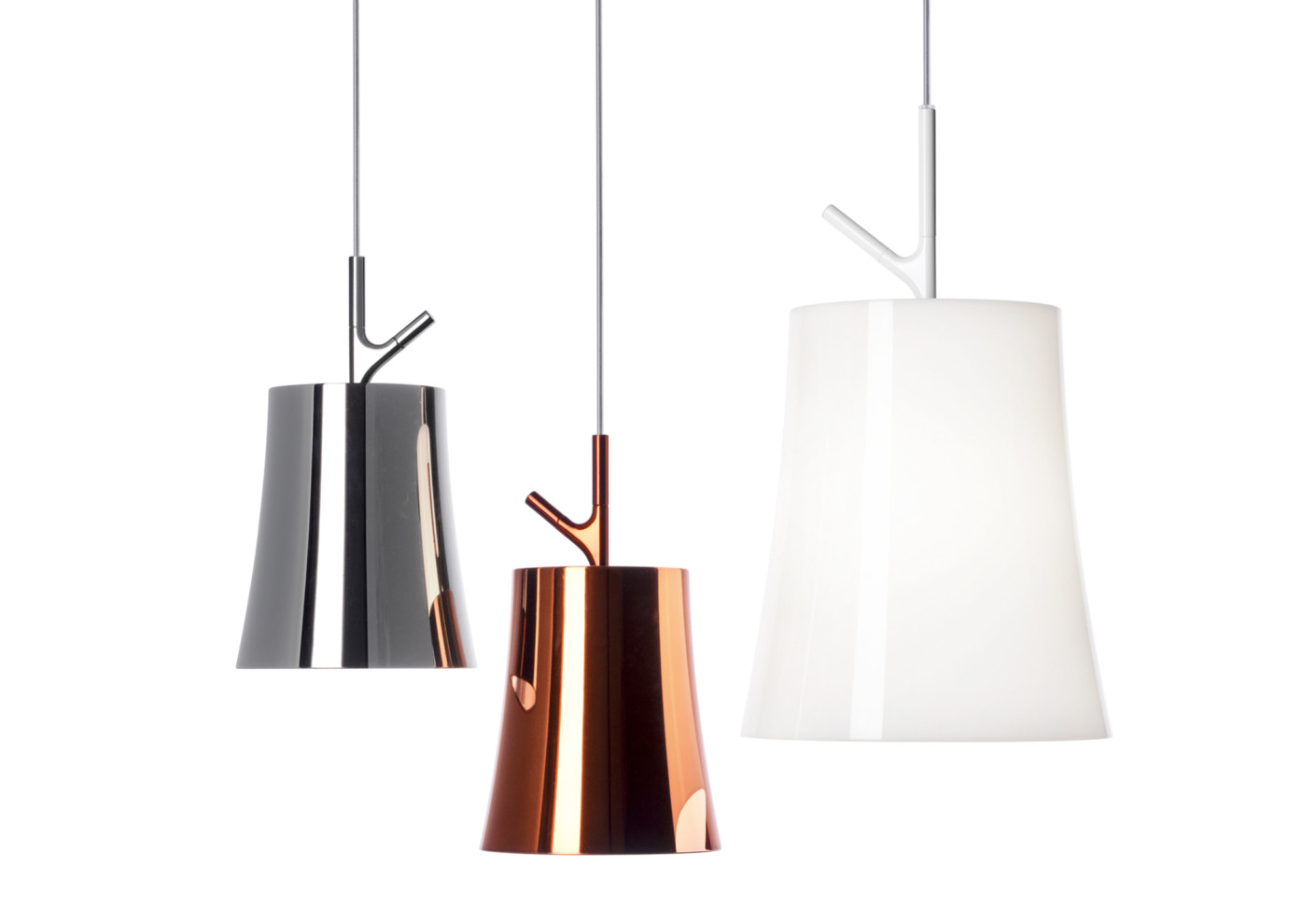 birdie grande suspension lamp by foscarini stylepark. Black Bedroom Furniture Sets. Home Design Ideas