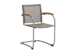 Bolero Cantilever chair with tissue  by  Garpa