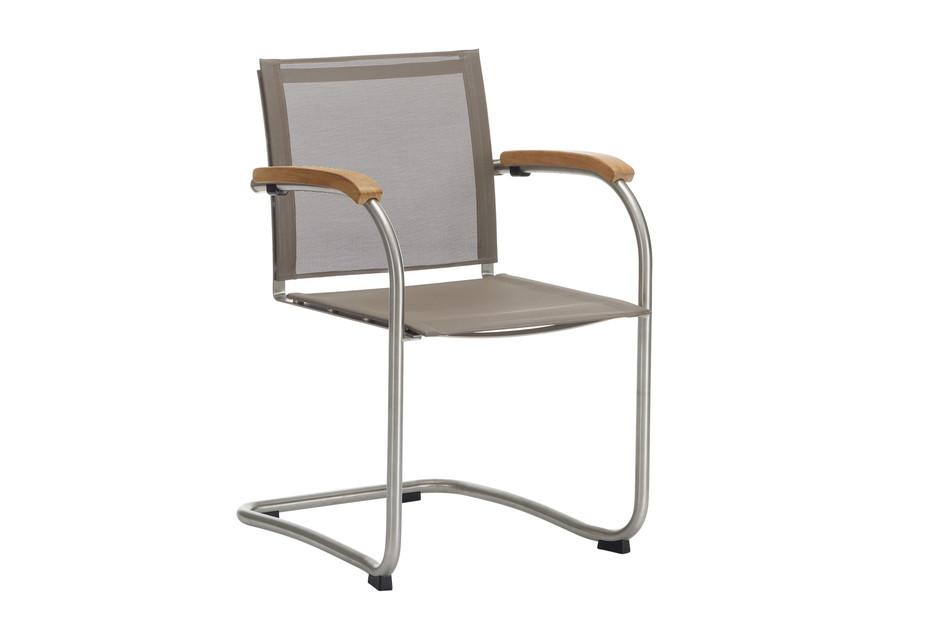 Bolero Cantilever chair with tissue