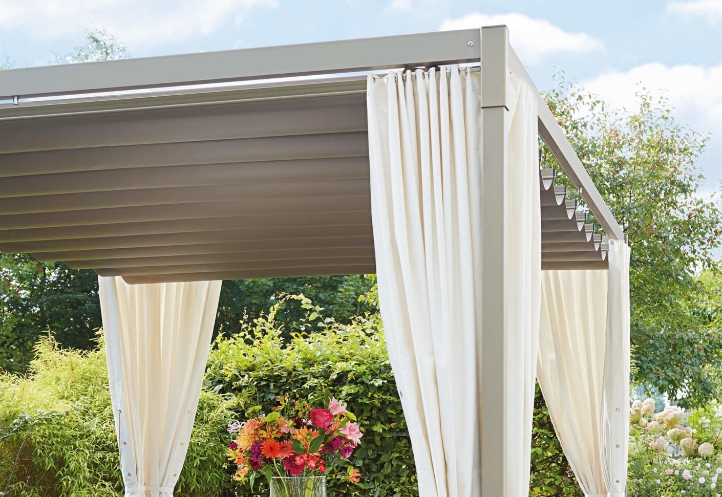 pavillon mit faltdach sonnenschutz pavillon mit faltdach cc04 hitoiro genial stabiler pavillon. Black Bedroom Furniture Sets. Home Design Ideas
