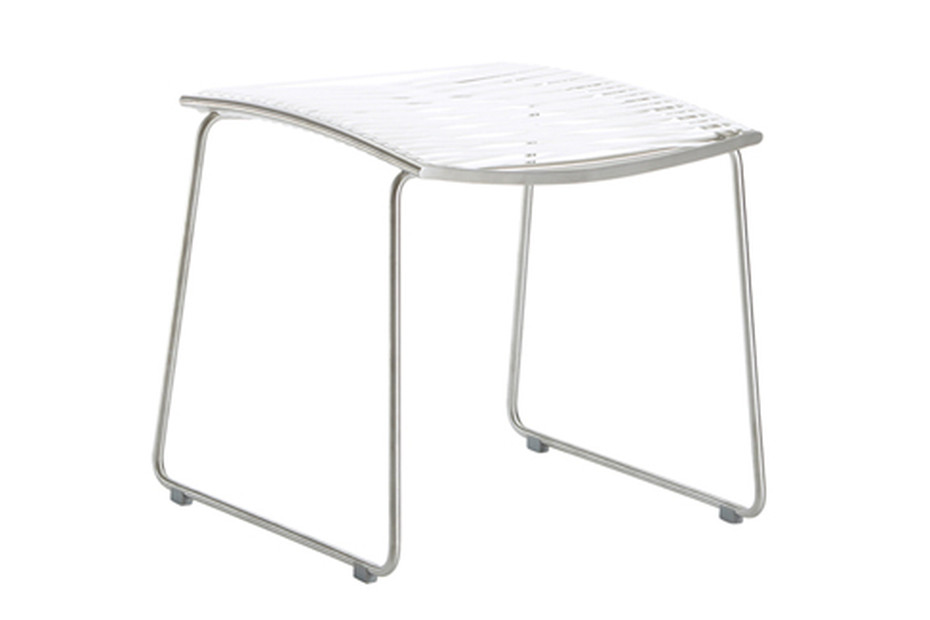 Pan stool for chair
