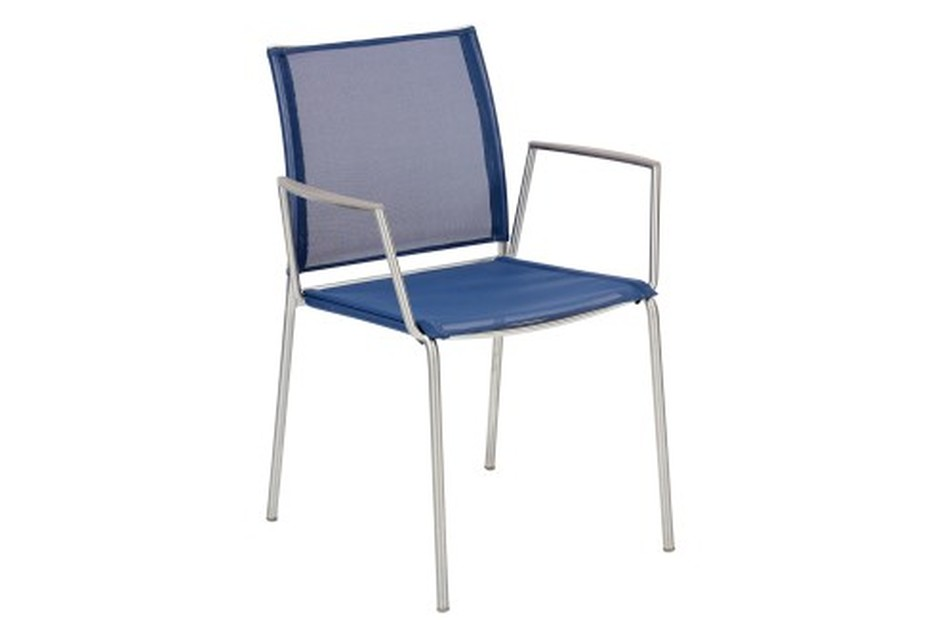 Porto chair with armrests