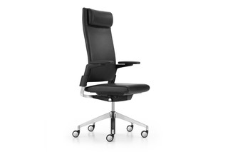 Camiro swivel chair upholstered L  by  Girsberger