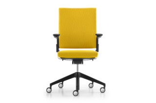 Camiro swivel chair upholstered  by  Girsberger