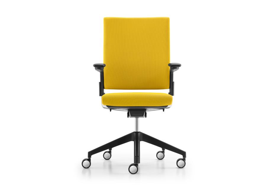 Camiro swivel chair upholstered