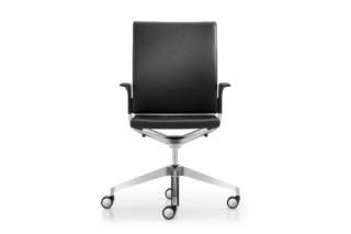 Camiro work&meet swivel chair upholstered L  by  Girsberger