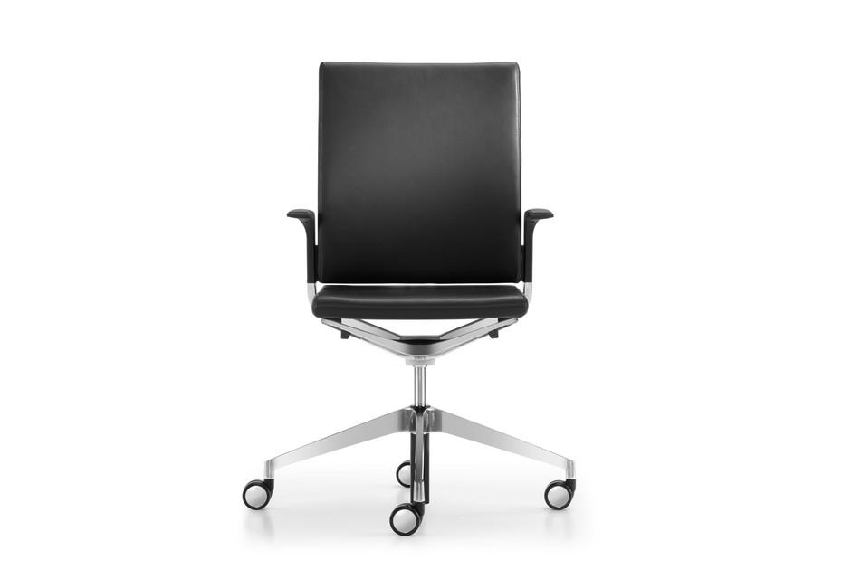 Camiro work&meet swivel chair upholstered L