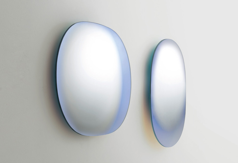 Shimmer Spiegel oval
