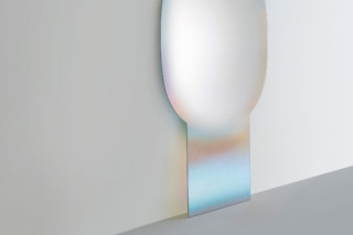Shimmer standing mirror  by  GLAS ITALIA
