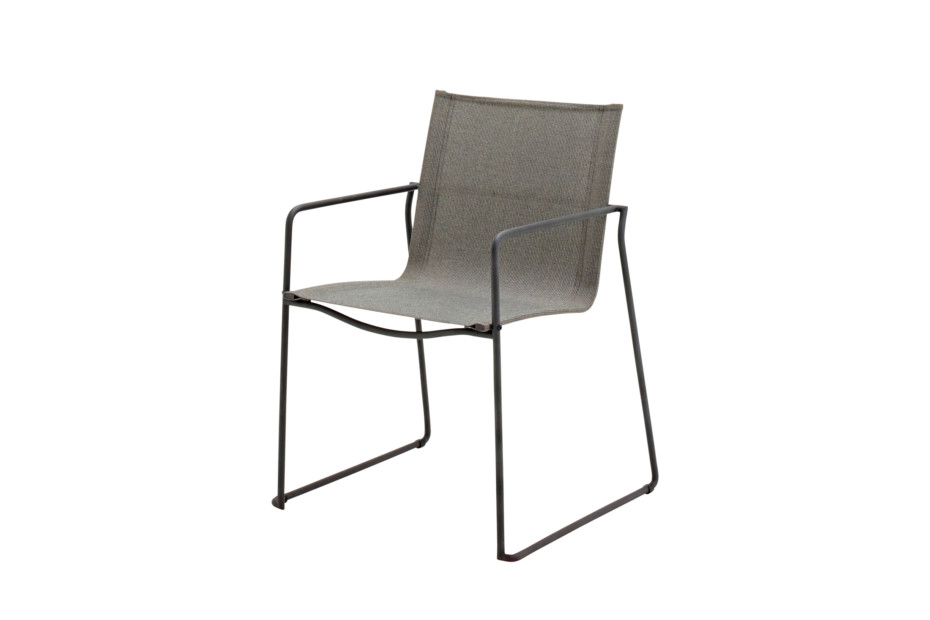 Asta Stacking Chair with Arms
