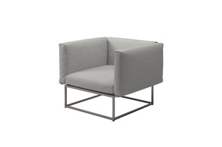 Cloud 75x75 Lounge Sessel  von  Gloster Furniture