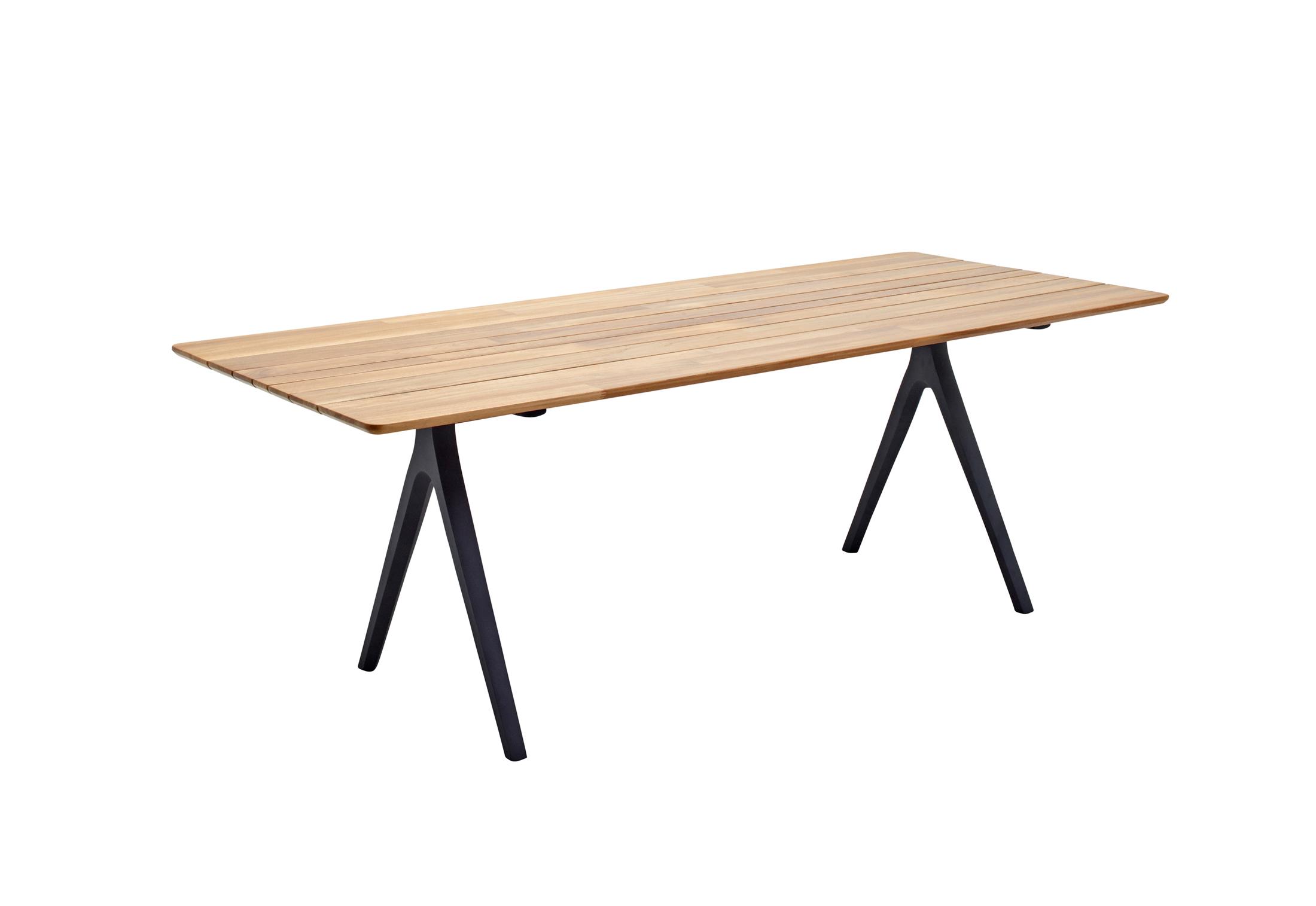 split esstisch 220 von gloster furniture stylepark. Black Bedroom Furniture Sets. Home Design Ideas
