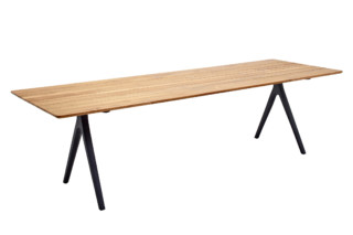 Split Dining Table 280  by  Gloster Furniture
