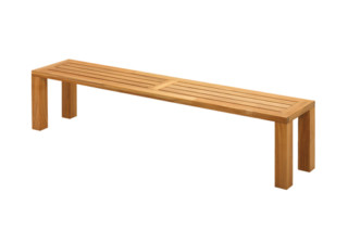 Square Backless Bench 210  by  Gloster Furniture