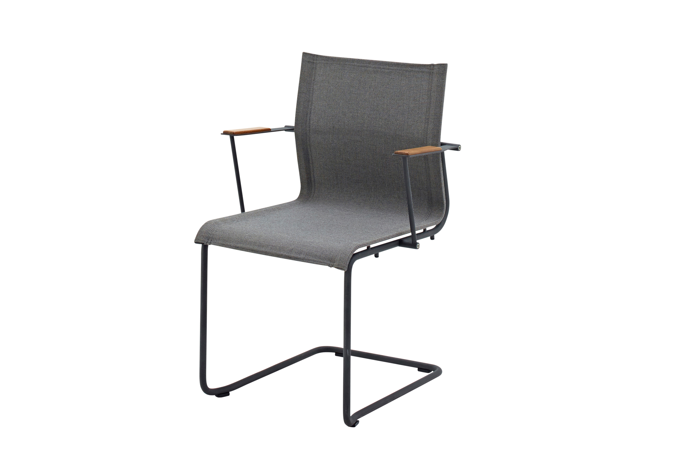 Sway stacking chair with arms by gloster furniture stylepark
