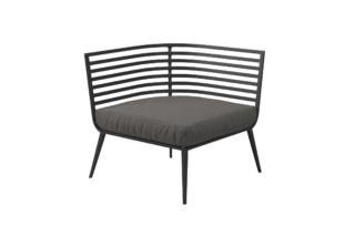 Vista Corner / End Unit   by  Gloster Furniture