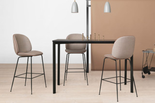 Beetle bar stool  by  Gubi