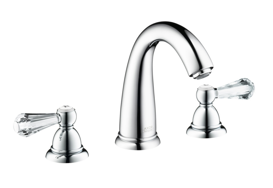 Axor Carlton Swaroski 3-hole basin mixer high