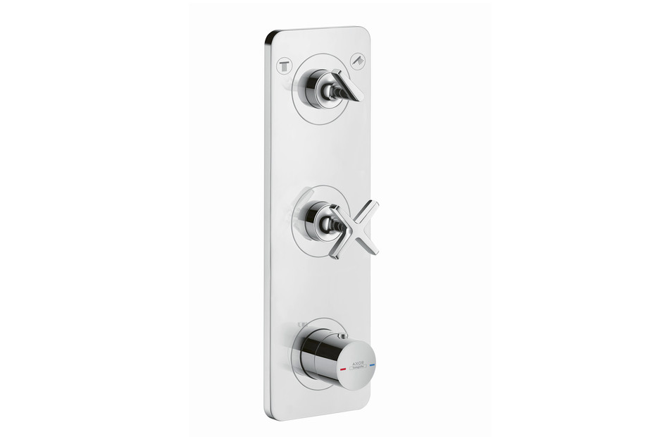 Axor Citterio E Thermostatic module for concealed installation 380/120