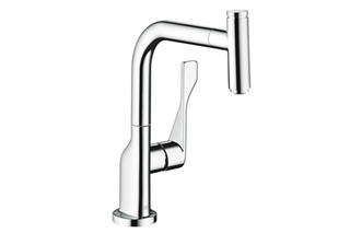 Axor Citterio Select kitchen mixer pull-out spout  by  AXOR