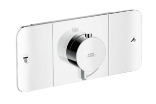 Axor One Thermostatic module for concealed installation, for 2 outlets  by  Axor