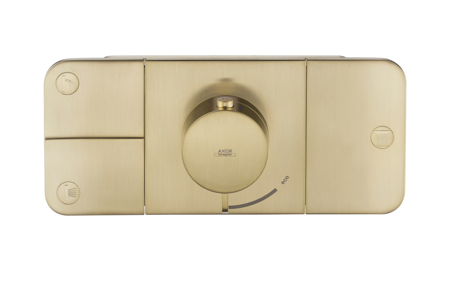 Axor One Thermostatic module for concealed installation, for 3 outlets