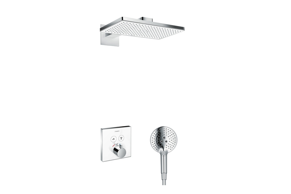Rainmaker Select 460 3jet overhead shower with shower arm