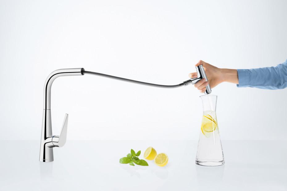 Talis Select kitchen mixer Pullout Spout