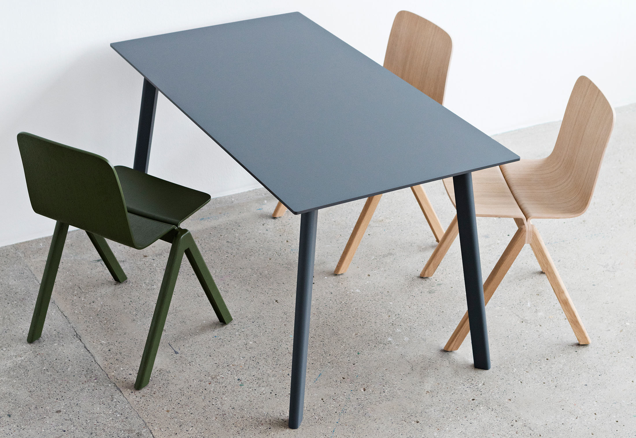 Copenhague deux table cph210 by hay stylepark - Table copenhague bouroullec ...