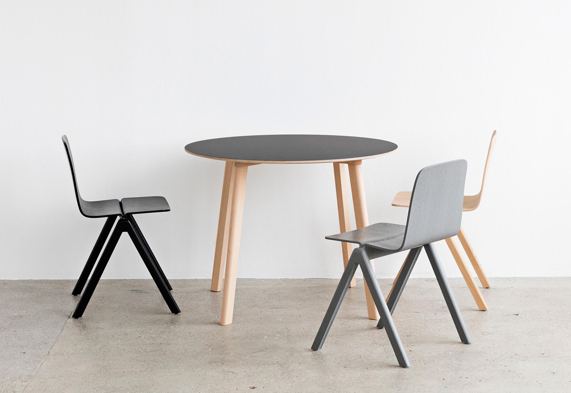 Copenhague Deux Table Cph220 Von Hay Stylepark