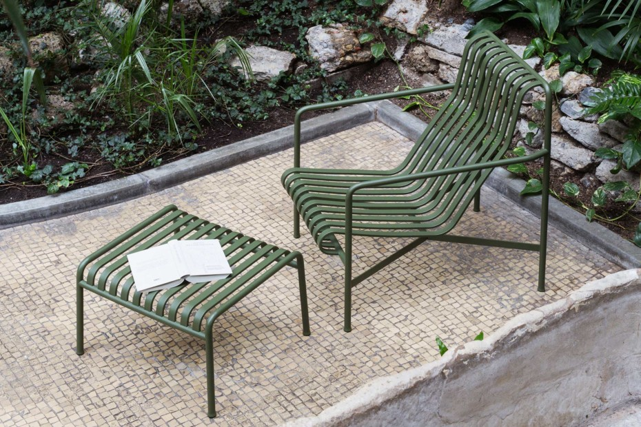 Palissade Lounge Chair hoch