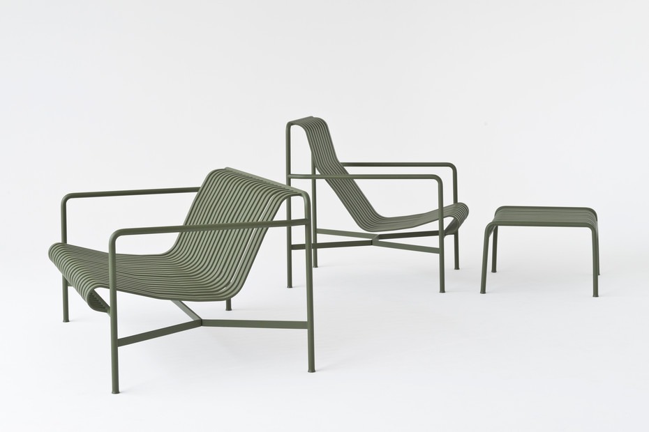 Palissade Lounge Chair hoch