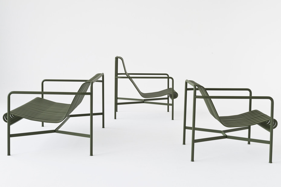 Palissade Lounge Chair niedrig