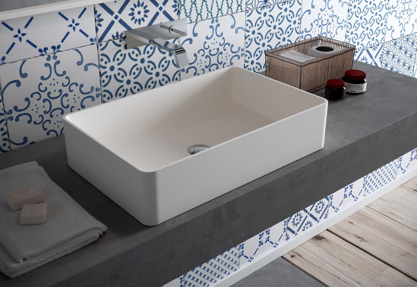 waschbecken cb540r von hi macs stylepark. Black Bedroom Furniture Sets. Home Design Ideas