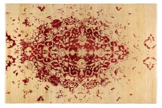 Tabriz Undyed Red  by  Hossein Rezvani