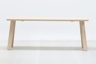 Alpin bench  by  Hussl