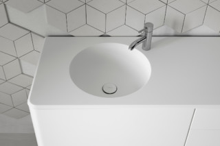 CERCLO washbasin countertop  by  Inbani