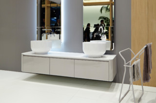 ORIGIN wall-mounted vanity unit  by  Inbani