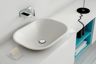 OU countertop basin  by  Inbani