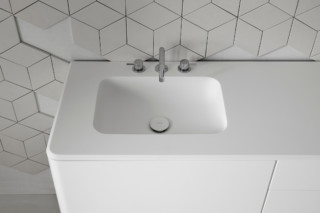 QUADRO 45 washbasin countertop  by  Inbani