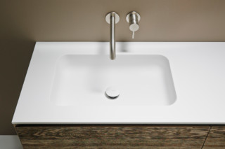 QUADRO 55 washbasin countertop  by  Inbani