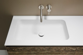 QUADRO 65 washbasin countertop  by  Inbani