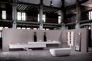 STRATO bathroom furniture set 11  by  Inbani
