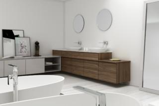 STRATO bathroom furniture set 15  by  Inbani